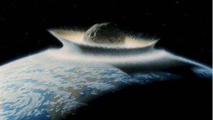 La caída del meteorito hace 65 millones de años provocó terremotos, tsunamis y erupciones volcánicas (NASA)