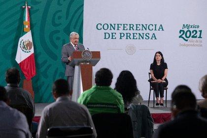 La percepción de atributos del presidente disminuyeron durante el mes pasado (Foto: Presidencia de México)
