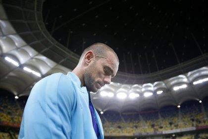 Wesley Sneijder fue uno de los históricos de la selección de Holanda que no fue más convocado con la llegada de Koeman