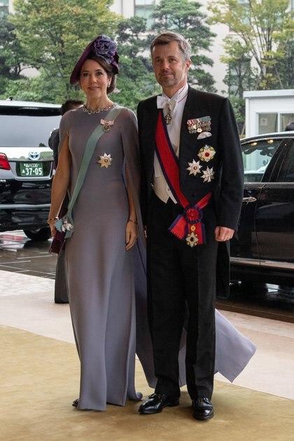 El príncipe Federico de Dinamarca y la princesa Mary durante un evento oficial en 2019. (Photo by Carl Court / AFP)