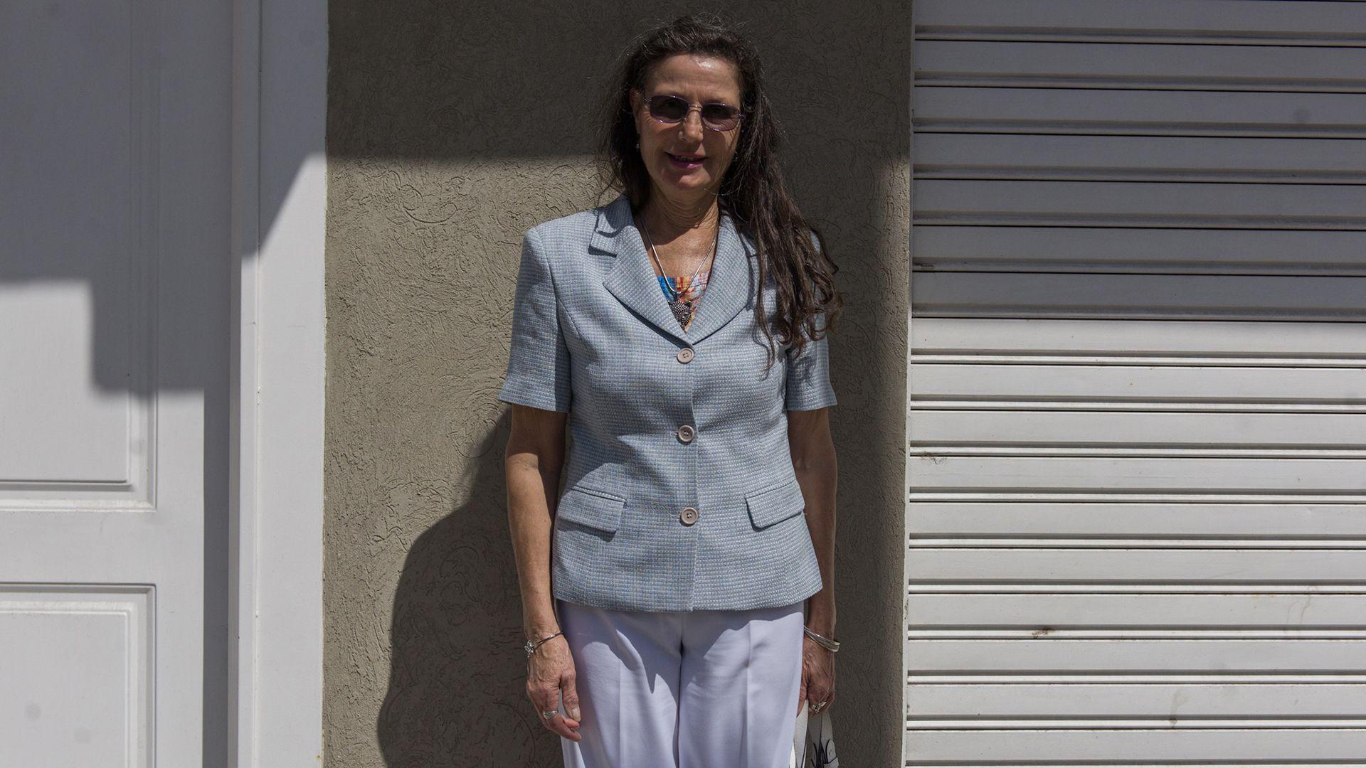 María Elena Colombo, abogada de la víctima. (Adrián Escandar)