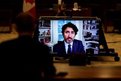 El primer ministro de Canadá, Justin Trudeau, atendió un interrogatorio en el parlamento