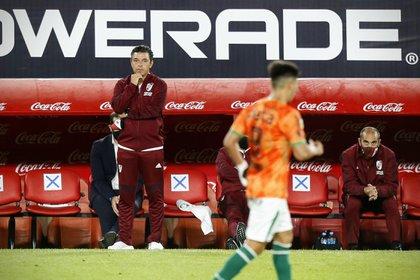 Marcelo Gallardo en el Libertadores de América (Foto: TELAM)