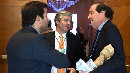 Clusellas dialoga con Martín Otero Monsegur, que este año presidió el Encuentro Anual de la ACDE