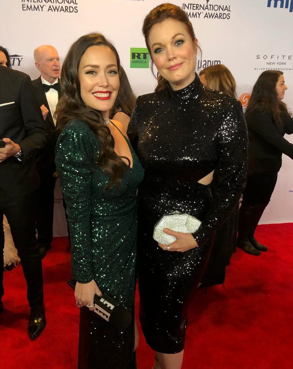 La actriz estadounidense, Bellamy Young, fue una de las invitadas (Foto: E! Entertainment/E! Online Latino)