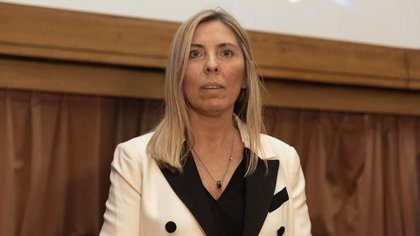 La jueza María Eugenia Capuchetti (Adrián Escandar)