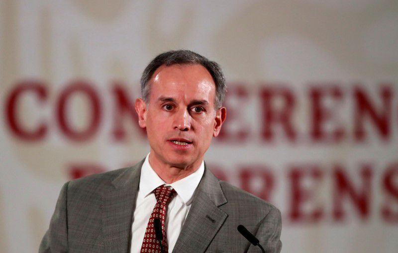 Hugo López-Gatell, subsecretario de Prevención y Promoción de la Salud de México en el Palacio Nacional de Ciudad de México, México (Foto: Reuters)