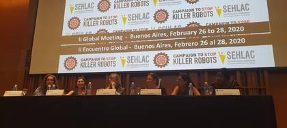La Campaña para Detener a los Robots Asesinos (Campaign to Stop Killer Robots) realizó una conferencia esta mañana en Buenos Aires.