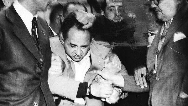 Jorge Burgos, preso por el descuartizamiento de Alcira Methyer en 1955