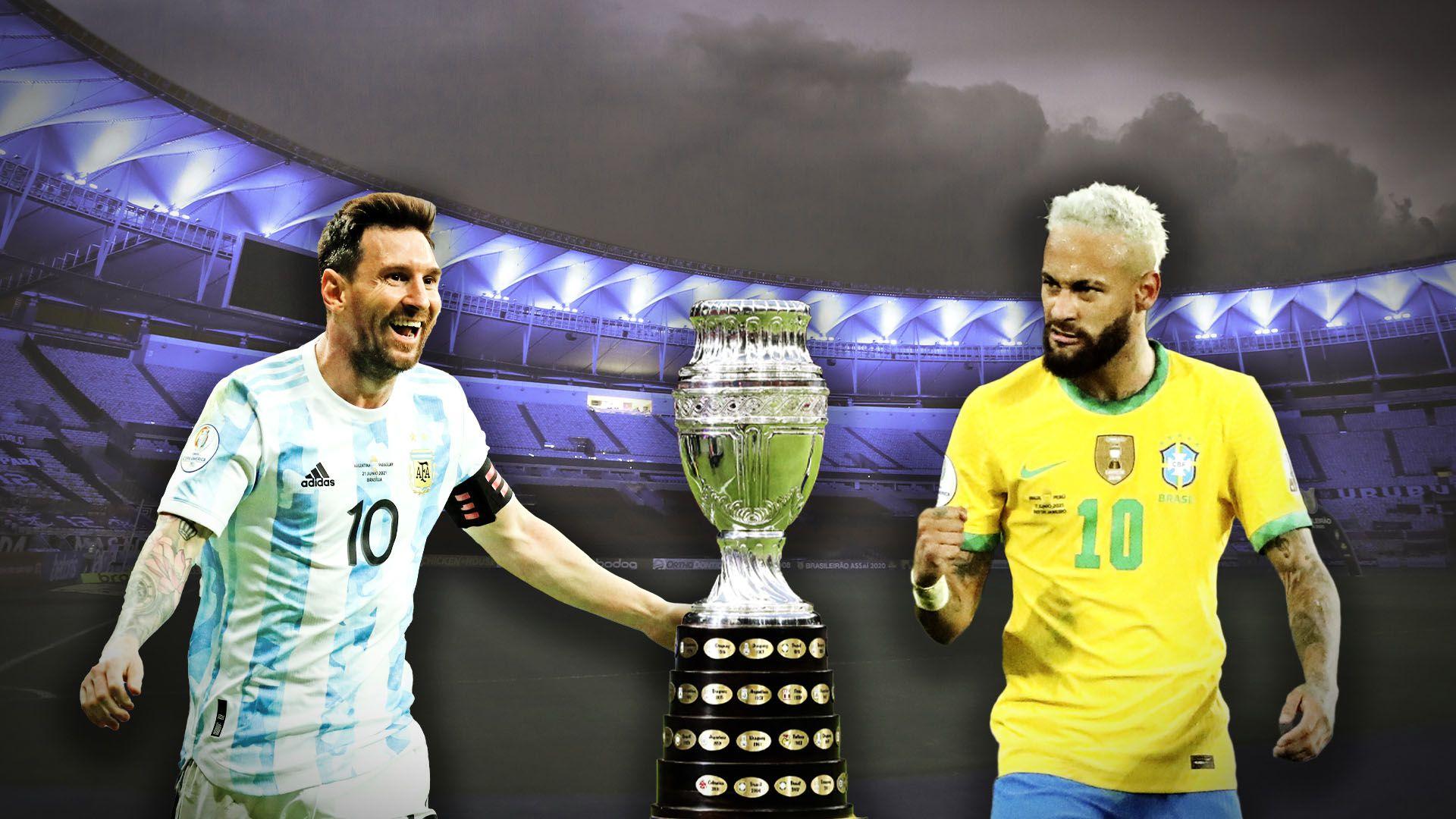 Previa Final copa america Argentina Brasil maracana portada opcion 2