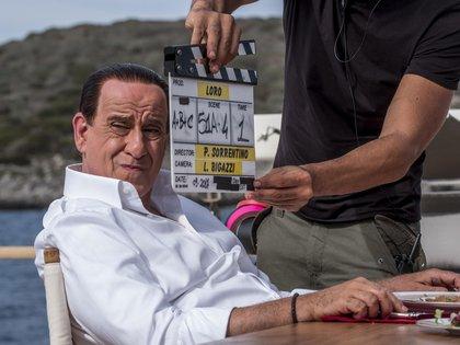 El actor Toni Servillo durante el rodaje de la película de Paolo Sorrentino sobre la vida del magnate y ex primer ministro italiano Silvio Berlusconi