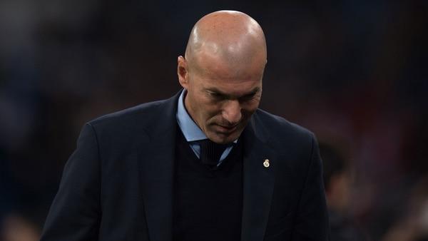 Zidane está en la cuerda floja, y los jugadores del Real Madrid serían los responsables (Getty Images)