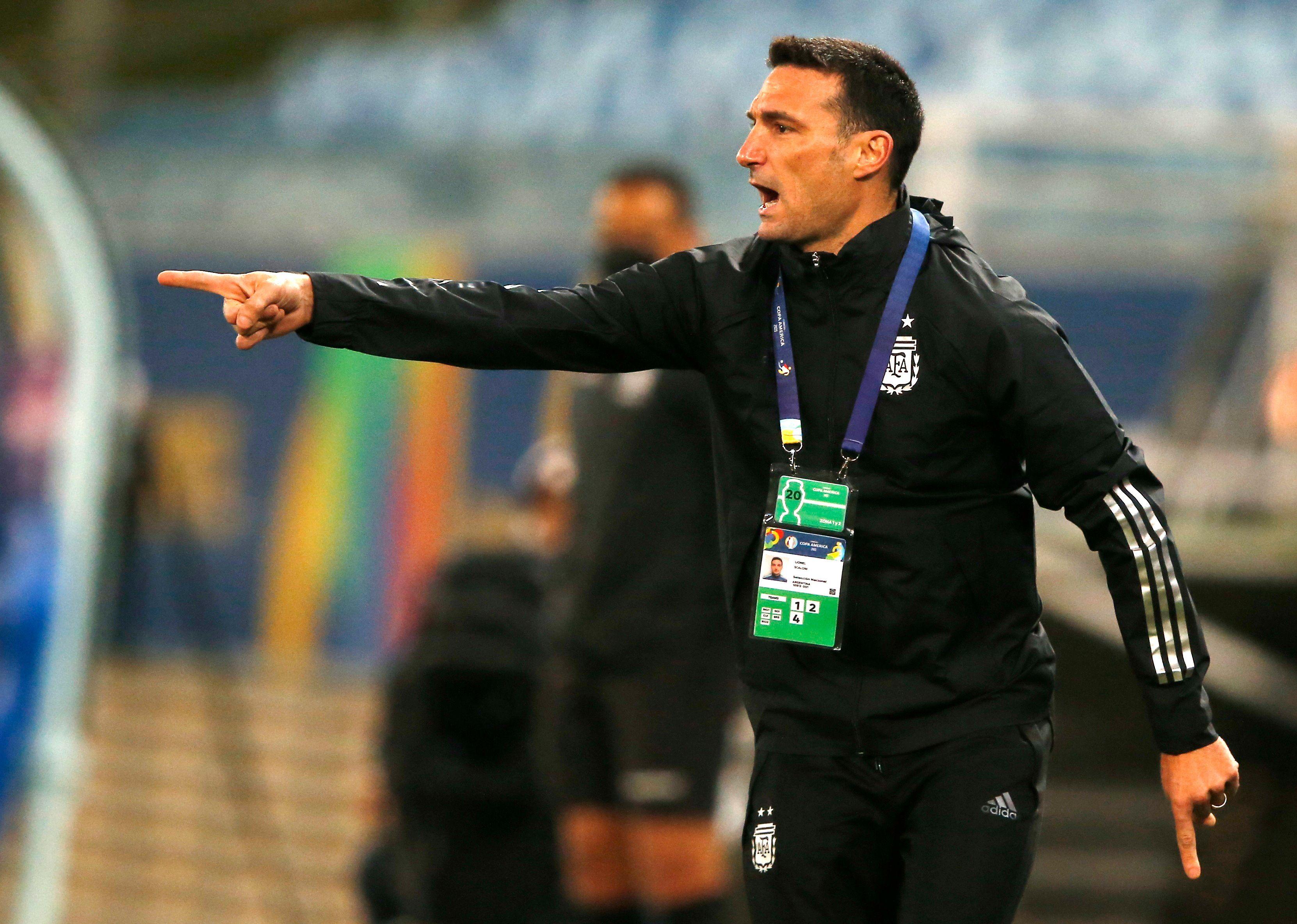 Lionel Scaloni hizo debutar a 36 jugadores durante sus tres años en la Selección Argentina (Foto: REUTERS)