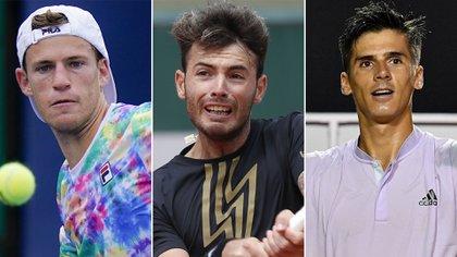 Diego Schwartzman, Juan Ignacio Lóndero y Federico Coria serán los primeros argentinos en hacer su presentación en el US Open 2020