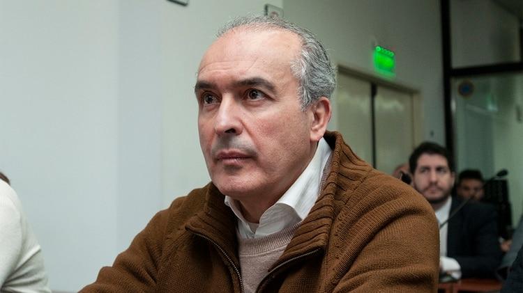 El ex secretario de Obras Públicas, José López, otro de los acusados del caso