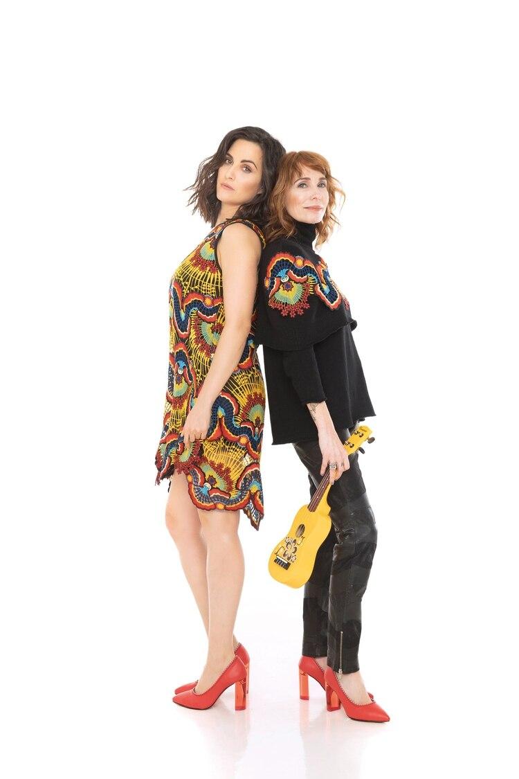 Gloria Carrá y Julieta Díaz