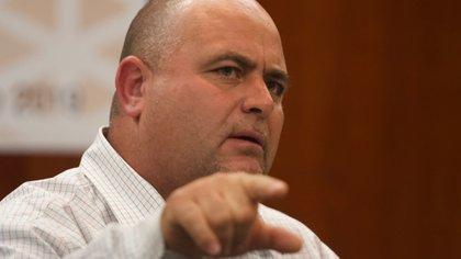 Julián LeBarón, llamó a ocupar las instalaciones de la policía local de su comunidad en el municipio de Galeana, Chihuahua. (Foto: Cuartoscuro)