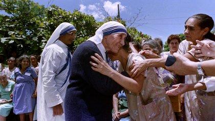 La Madre Teresa de Calcuta en El Salvador (AFP)
