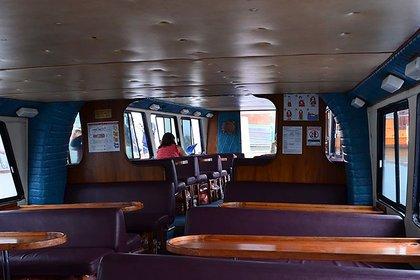 El buque cuenta con tres espacios y permite albergar a 170 personas