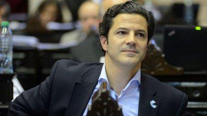 El diputado nacional Luciano Laspina, vicepresidente de la comisión de Presupuesto.