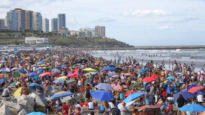 Una postal de las playas de la costa que no se verá este verano