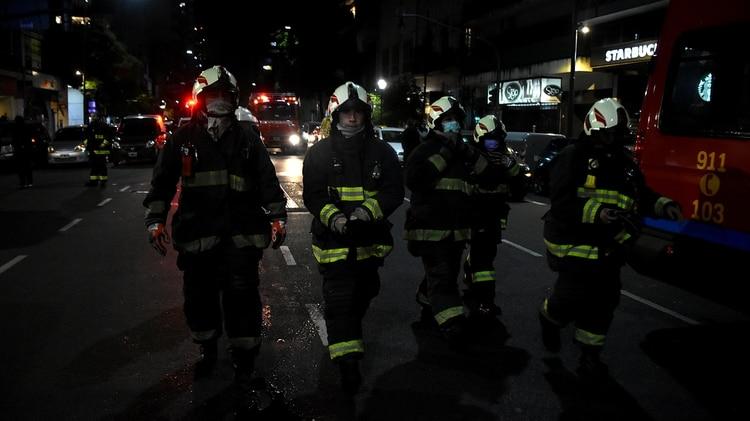 El sentido mensaje de Alberto Fernández y Horacio Rodríguez Larreta para los bomberos que murieron en la explosión del local de Villa Crespo