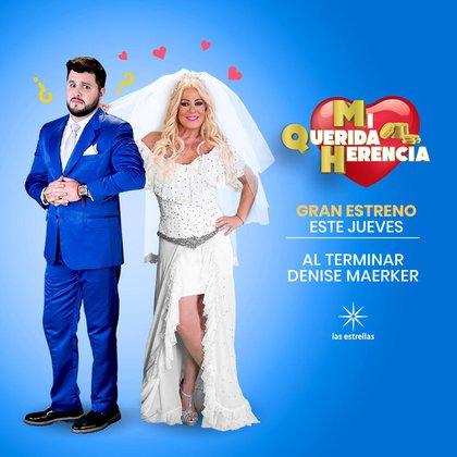 Deyanira y Carlos harán lo posible para seguir manteniendo apariencias en esta nueva temporada (Foto: @40y20laserie / Twitter)