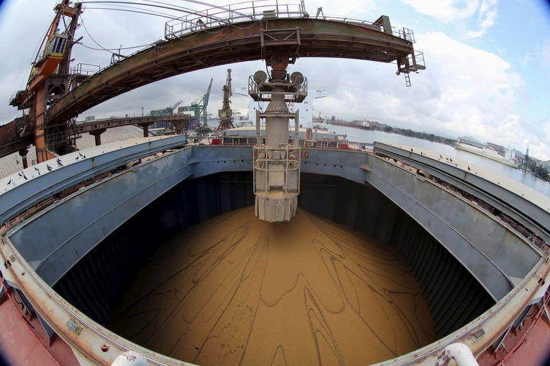 En los tres primeros tres meses del año, las exportaciones del complejo sojero fueron las más altas de la historia (REUTERS/Paulo Whitaker)