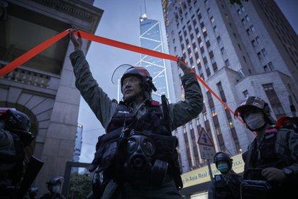 Protestas de Hong Kong (DPA)