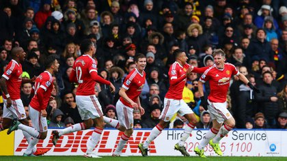 Schweinsteiger jugó 31 partidos y anotó un solo gol en su paso por el Manchester United (AFP)