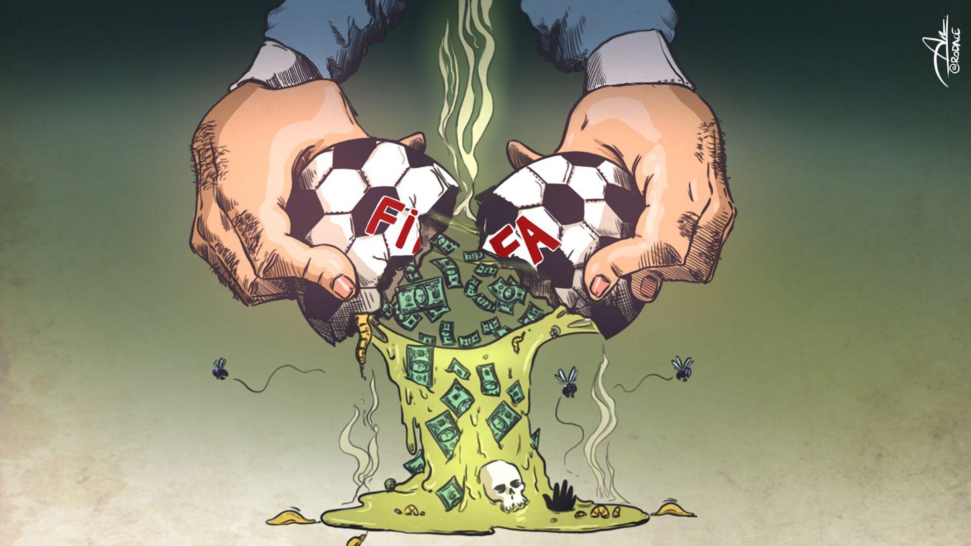 El FIFA Gate comenzó en 2015 y hay más de 40 dirigentes y empresarios acusados (Rodrigo Acevedo)