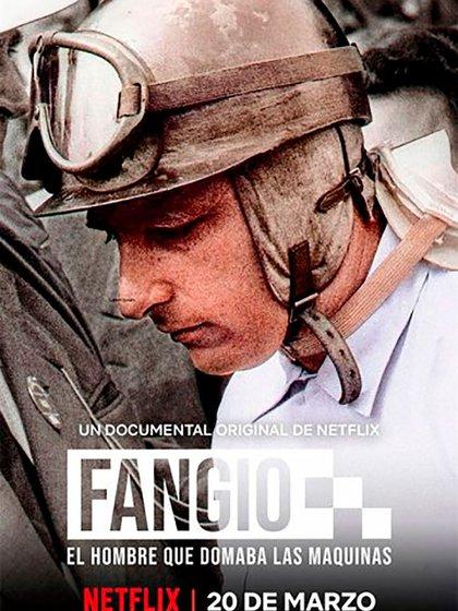 Juan Manuel Fangio, el hombre que domaba las máquinas, Netflix