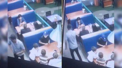 En Hermosillo, Sonora, un hombre fue asesindo en el interior de un restaurante. Hoy se sabe que era Jefe de plaza del grupo delictivo Los Salazar (Foto: Especial)