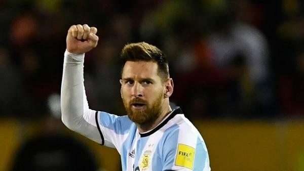 Messi, el artífice de la clasificación de Argentina (AFP)