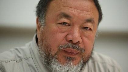 El artista chino visitó la Argentina y conversó sobre su obra con la prensa (Nicolás Aboaf)