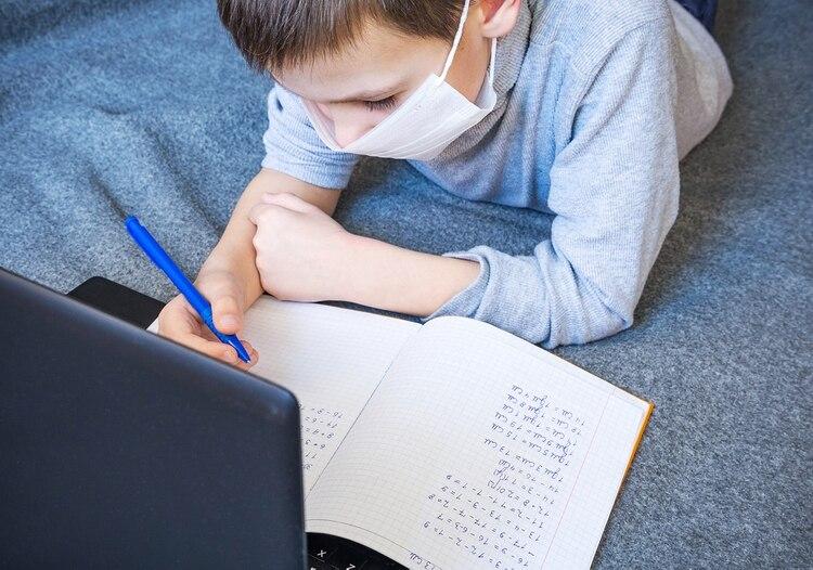 Las clases virtuales no llevarán nota (Foto: Shutterstock)