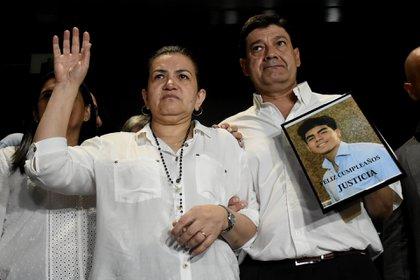 Los padres de Fernando Báez Sosa (Nicolás Stulberg)