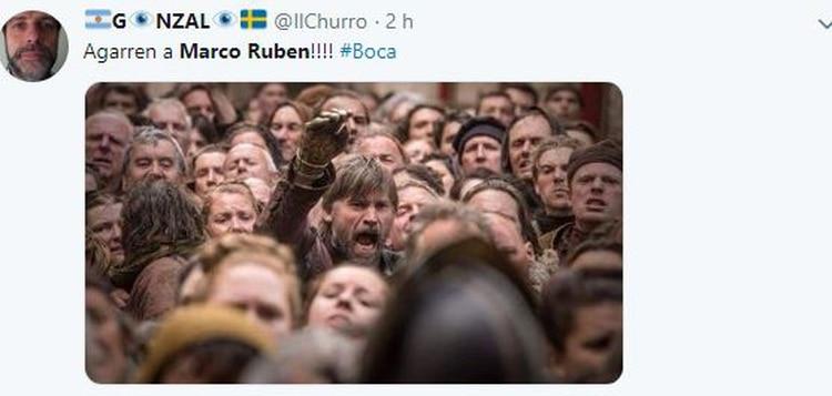 Game Of Thrones y el pedido de Jaime Lannister para que agarren a Marco Ruben