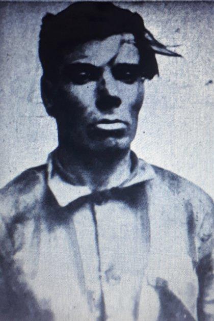 El sospechoso se llamaba José Gancedo, era un linyera de origen español llegado poco antes en busca de algún tipo de trabajo