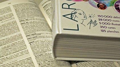 El emblemático diccionario Larrouse