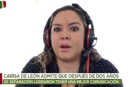 Carisa de León no tenía relación con la familia de Xavier Ortiz (Captura de pantalla)