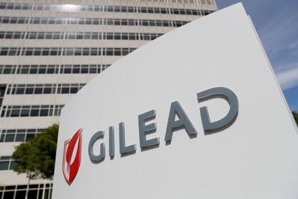 Oficina de Gilead Sciences, Inc. en Foster City, California (REUTERS/Stephen Lam/File Photo)