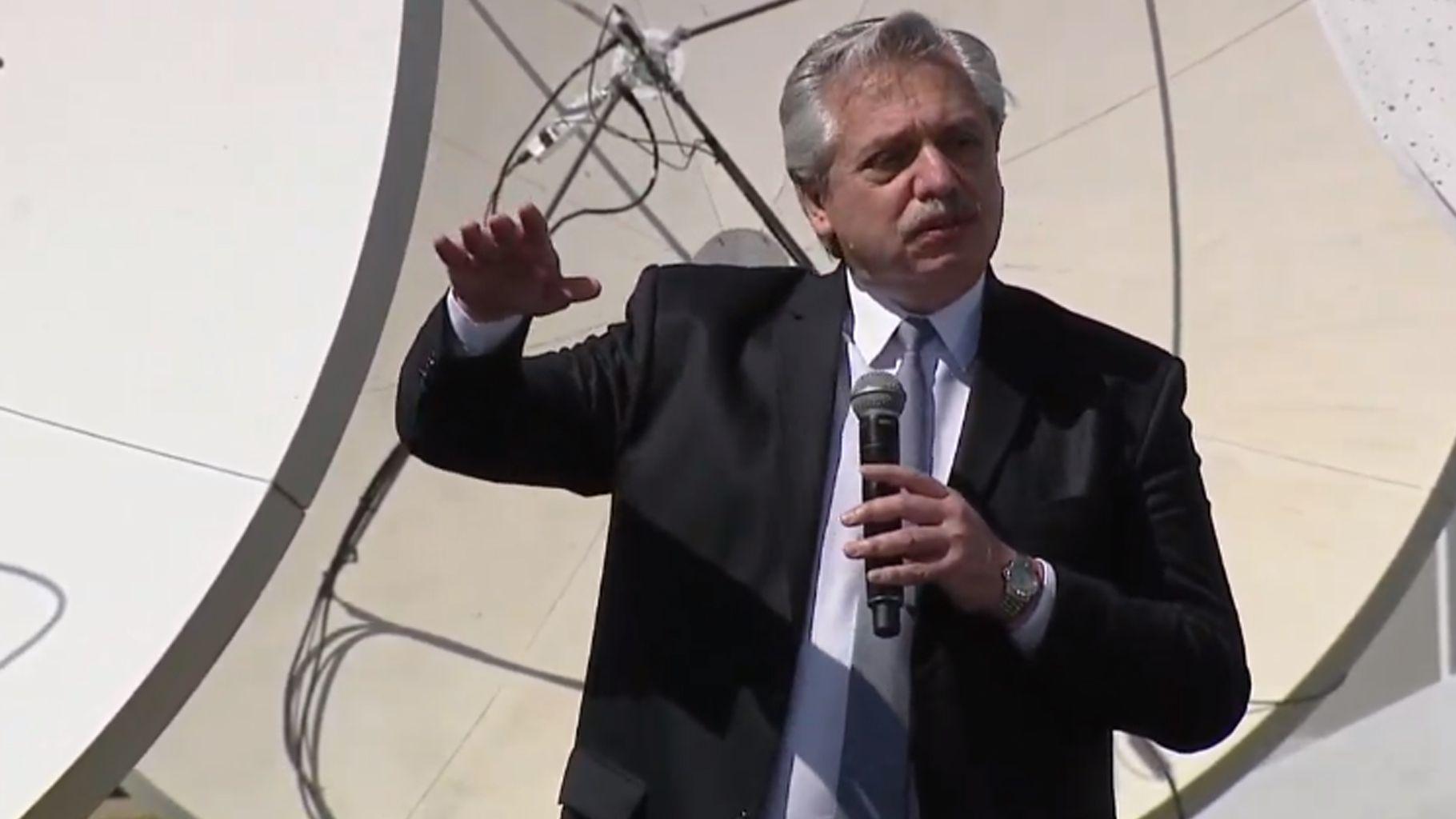 Alberto Fernández anuncia el Plan Nacional de Conectividad