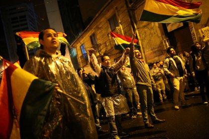 Protestas en La Paz en contra de Evo Morales. (REUTERS/Luisa Gonzalez)