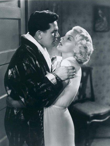 Lana Turner en El Cartero siempre llama dos veces (Moviestore/Shutterstock )
