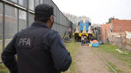 La zona está siendo custodiada por la Policía Federal