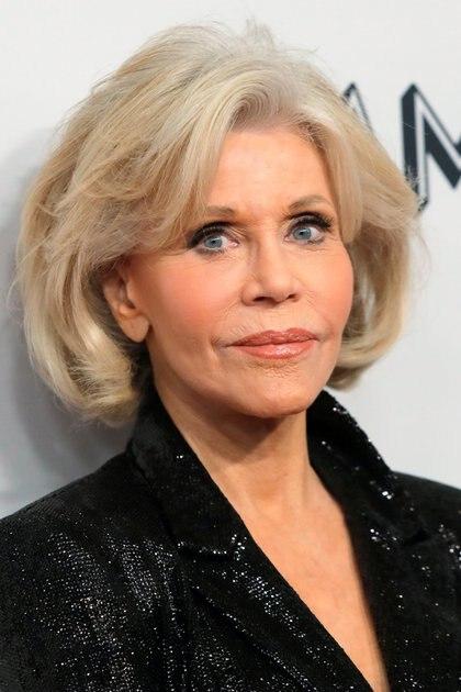 Jane Fonda también ha hablado sobre la discriminación a las mujeres por su edad (Reuters)