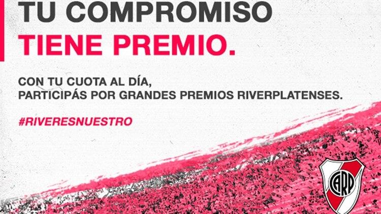 La campaña que lanzó River para sus socios