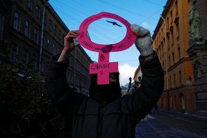 Este 8 de marzo se conmemora el Día Internacional de la Mujer (Foto: Reuters/Anton Vaganov)