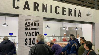 La carne fue uno de los productos que más ajustaron el precio al alza